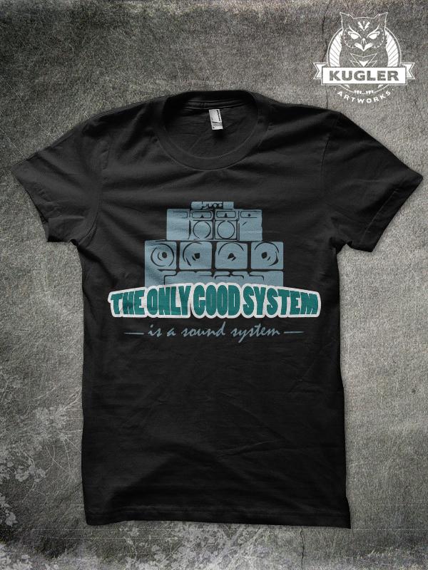 Shirt-Design // SOUND SYSTEM