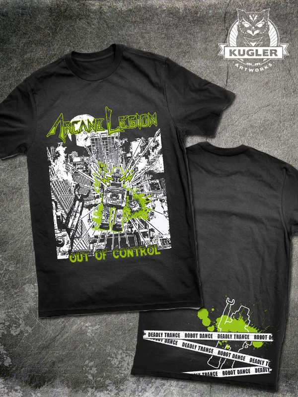 Band-Shirt // ARCANE LEGION