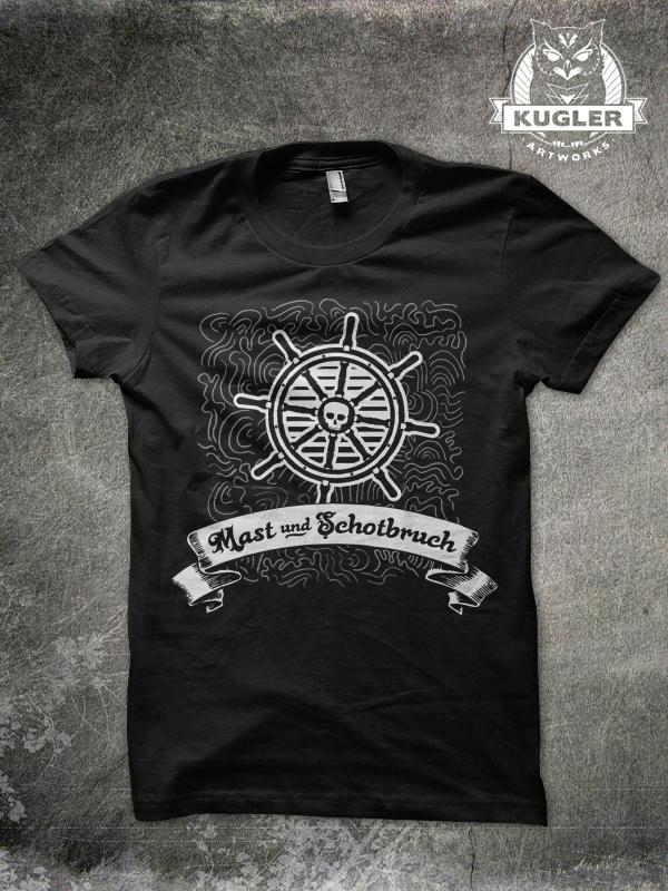 Shirt-Design // MAST UND SCHROTBRUCH