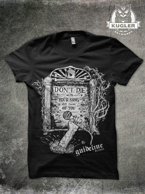 Shirt-Design // guideline records
