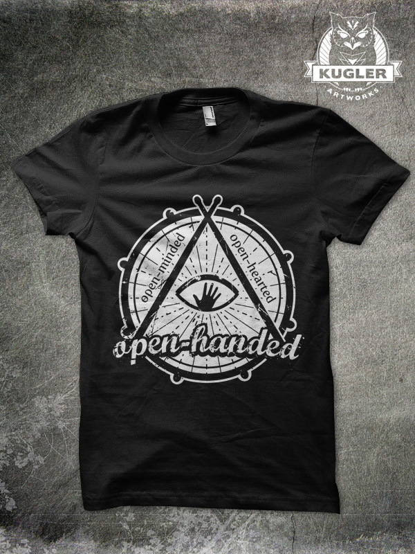 Shirt-Design // Open-Handed